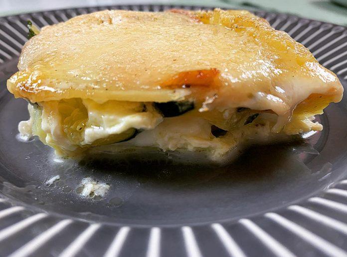 parmigiana patate e zucchine