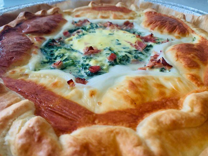 pizza rustica scamorza e friarielli